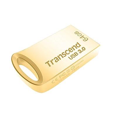 Transcend JetFlash 710 32 GB USB 3.0 Pen Drive (TS32GJF710S), Silver