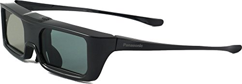 Panasonic TY de er3d6me Active Shutter Lunettes (Batterie, actif 3D, convient pour PANASONIC Viera TV) Bluetooth Noir