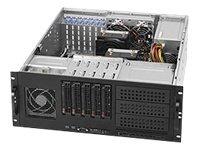 Supermicro CSE-842TQ-865B 865W 4U Tower/Rackmount Server Chassis (Black)