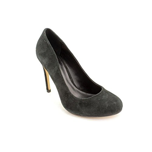 Truth or Dare by Madonna Ebikona Womens Size 9 Black Suede Pumps Heels Shoes