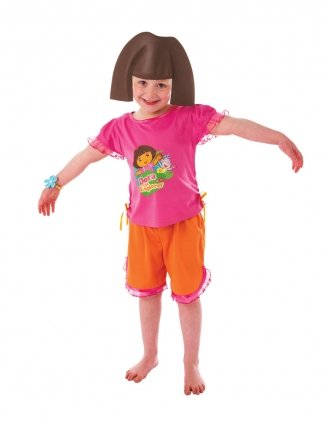 Christys Dress Up Dora The Explorer Costume (3 - 5 Years) by ToyMarket (Dora The Explorer Costumes)