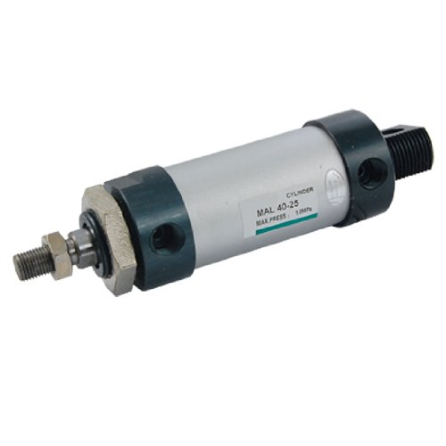 Double Action 1 9/16 Bore 63/64 Stroke Air Cylinder airtac type standard air cylinder 32mm bore 175mm stroke sc32x175 double acting pneumatic cylinders