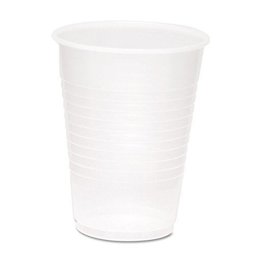 Boardwalk YP1214C Clear Plastic PETE Cups, 12/14oz (Case of 500)
