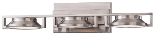 "Kovacs P1103-084-L 1 Light 25"" Led Bathroom Vanity Light In Brushed Nickel From, Brushed Nickel"