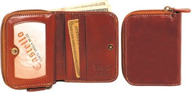 Castello Leather Colombo Zip Compact Wallet - Buy Castello Leather Colombo Zip Compact Wallet - Purchase Castello Leather Colombo Zip Compact Wallet (Castello, Apparel, Departments, Accessories, Wallets, Money & Key Organizers, Money Clips)