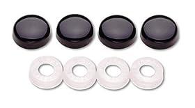 Cruiser Accessories 82050 Screw Covers, Black