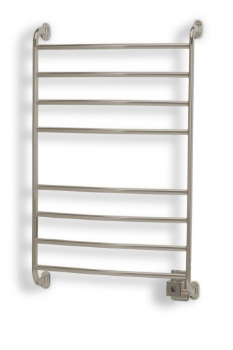 Great Deal! Warmrails HW/SW Kensington Wall Mounted Towel Warmer, 39.5-Inch, Nickel Finish