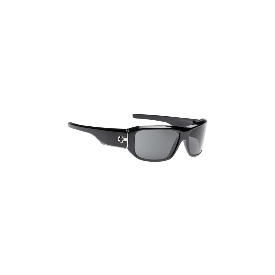 daae575ba8 Spy Lacrosse Sunglasses Gloss Black Grey Everything on PopScreen