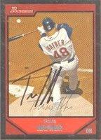 Travis Hafner Cleveland Indians 2007 Bowman Autographed Hand Signed Trading Card -... by Hall of Fame Memorabilia