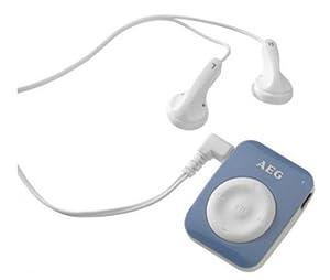 AEG MMS 4221 MP3-Player 4 GB (USB 2.0) blau