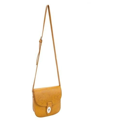 Parinda-11144-MAYA-Textured-Faux-Leather-Crossbody-Bag-Mustard-Tan
