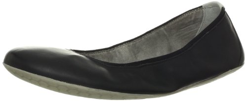 Vivobarefoot Women's Jing Jing Walking Shoe, Black Polyurethane, 37 EU/6.5 M US