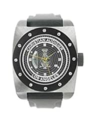 Christian Audigier Unisex FOR-205 Fortress CA Divine Vine Stainless Steel Watch