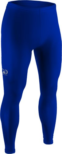 Boys And Girls Sports Compression, Ankle Length Pant Tight-Hockey, Baseball, Football, Or Soccer-This Double Layered, Moisture Resistant Fabric Will Keep Your Child Warm And Safe In Cold Temperatures-Sizes Ys, Ym, Yl (Youth Small, Royal)
