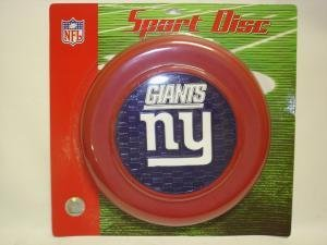 New York Giants Sport Disc NFL Frisbee Dog Toy