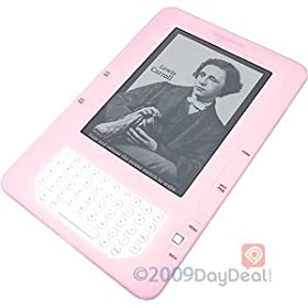 Amazon Kindle 2 (2nd Generation) Silicone (PINK) Skin Cover Case