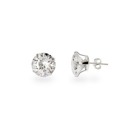 Big Pimpin 4 carat CZ Stud Earrings