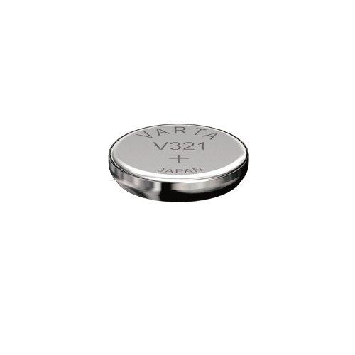 """VARTA Lot de 2 Piles oxyde argent """"Watch"""" pour montres V321 (SR65) 1,55 Volt"""