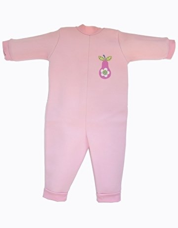Splash About Kids Warm-In-One Wetsuit (Pink Pear, X Large (12-18 Months)) front-1022950