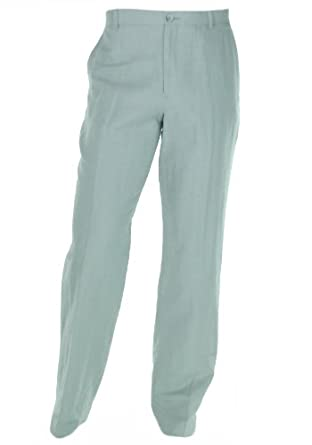 Perry Ellis Classic Fit Plain Front Pants High Rise 32x30