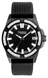 Caravelle Swarovski® Crystal Men's watch #45B117