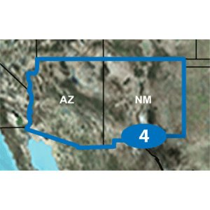 High Quality New Garmin Topo US 24K Mountain Sount - Arizona & New Mexico - microSD