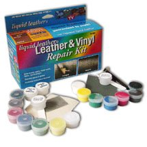 Liquid Leather& Vinyl Repair Kit w/Fabric