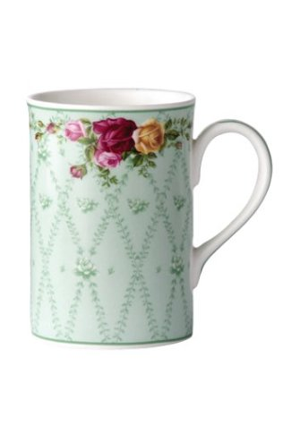 Royal Albert Collectible Teas Peppermint Damask Mug