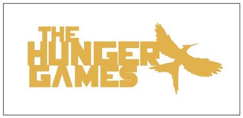 Hunger Games Sticker Decal Metallic Gold