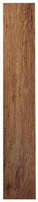 Achim Home Furnishings VFP2.0MO10 3-Foot by 6-Inch Tivoli II Vinyl Floor Planks, Medium Oak, 10-Pack