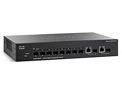 Cisco 8-Port L3 Switch, Managed (SG300-10SFP-K9-NA)