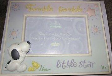 Hallmark Peanuts Little Baby Snoopy Frame - Twinkle Star - Studio B - 1