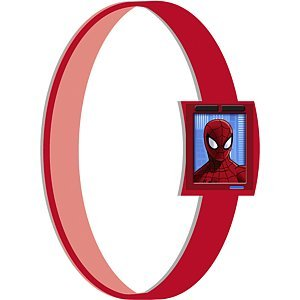 Spiderman Rubber Wristbands (4)
