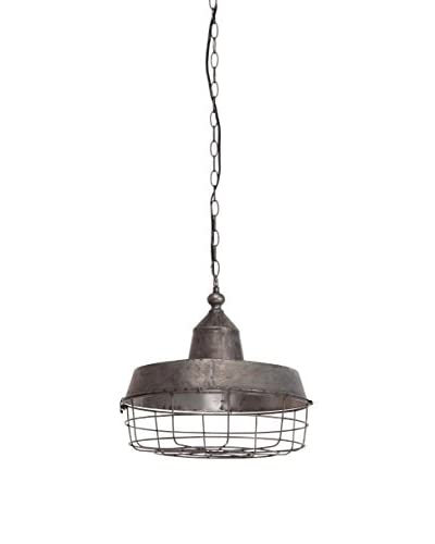 Mercana Tahla 1-Light Pendant, Brushed Nickel