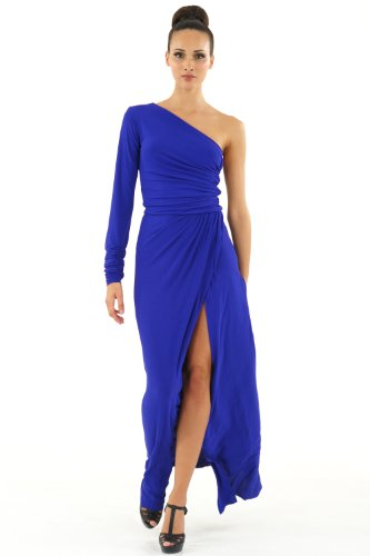 The Gilly Maxi Dress, Sapphire, Size S picture