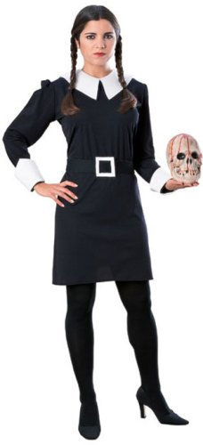 Adult Wednesday Costume - Addams Family - Small