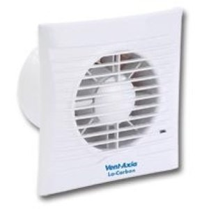 Vent-Axia Lo-Carbon Silhouette 100T Extractor Fan