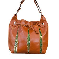Rainforest Fern Soiree Drawstring Baby Bag by Crystalyn Kae
