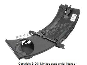 """Bmw Genuine Cup Holder For Left / Driver Side, Black Color, 3 Series (From 2005 - Present)"""