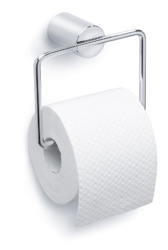 Blomus 68575 DUO Polished Toilet Paper Holder with Mounting Kit