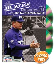 Championship Productions Jim Schlossnagle: All Access TCU Baseball Practice DVD by Championship Productions