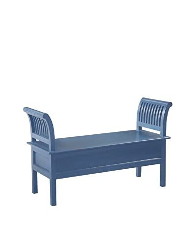 Jeffan Tiara Double Bench, Antique Blue