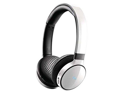 Philips SHB9150WT/00 Kabelloser On-Ear Bluetooth-Kopfhörer