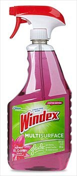 Windex Multi-Surface Cleaner With Glade Vibrant Bloom Scent 26 Oz