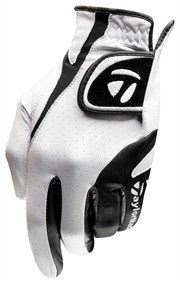 TaylorMade Targa Glove (Left Hand, White/Black, Medium/Large)