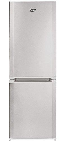 Beko CS234022S Libera installazione 205L 90L A+ Argento frigorifero con congelatore