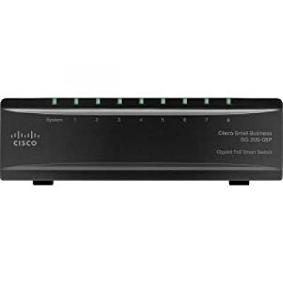 CISCO SLM2008T-NA / 8-port Gigabit Smart Switch