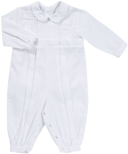 Today Sale Kissy Kissy Boys Long Sleeve Christening Suit - White-12-18 Months