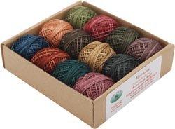 Valdani Inc. Hand Dyed 3 Strand Floss Designer Set 29 Yds, 12/Pkg: Heirloom