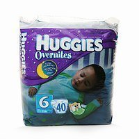 Huggies Size 6 (Over 35 Lb) Overnites Diapers Disney Baby 20 Ct Jumbo 2 Packs